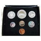 Royal Mint 1973 Canada Coin Set
