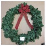 "Round Greenery Wreath ~ 30"""