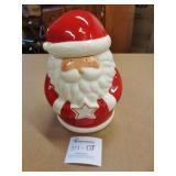 Santa Cookie Jar ~ Empty...sorry :oP