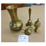 4 Brass Pieces