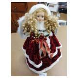 """25"""" Tall Girl of Christmas Angel"""