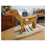 Handmade Wooden Rocking Horse *Needs Finishing