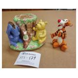 Disney Pooh & Tigger Ceramic Pieces