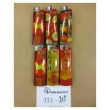 6 New Large Bic Lighters