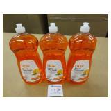 3 HDX Orange Scent 1.53L Dish Soaps