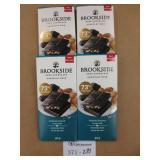 4 Brookeside Dark Chocolate 90g Bars
