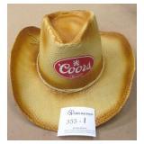 New Coors Banquet Summer Hat
