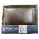 Stafford Leather Trifold Wallet