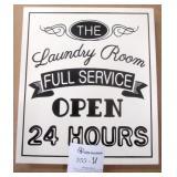 """11x13"""" Laundry Room Wall Art"""