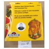 Napoleon Stainless Steel Chicken Roaster