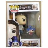 POP Labyrinth Sarah & Worm Vinyl Figure