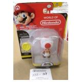 Nintendo Red Toad Figure