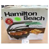 Hamilton Beach Panini Press Grill