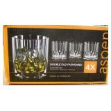 Nachtmann 4x Double Old Fashioned Whisky Glasses