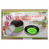 Cook N Home Nonstick 3pc Mini Pot & Pan Set