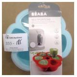 Beaba Multiportions Silicone Babyfood Portion Tray