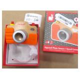 Janod Kids Wooden Sound Play Camera