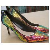 Aldo Size 9 Ladies Heel Shoes