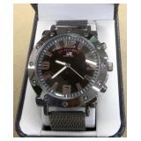U.S. Polo Quartz Metal & Alloy Casual Watch