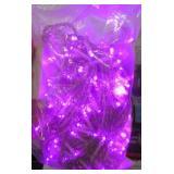 LED Plug in Light String Purple
