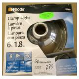 Woods Clamp Light