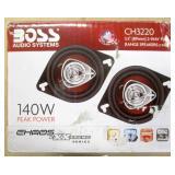 "Boss 140W 2 Way Full Range 3.5"" Speakers"