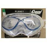 Cressi Planet Size B Silicone Swim Mask