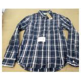 Levis Size S Plaid Shirt