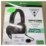 Xbox One Turtle Beach XO Three Gaming Headset