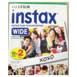 FujiFilm Instax Instant Film Wide 10 Sheets x 2