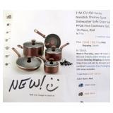 T-Fal 14pc Non Stick Thermo Spot Cookware Set