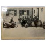 WW2 Nazi German BMW Motorcycle Photo