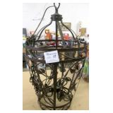 "Large 29"" Tall Metal Chandelier"