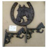 Cast Iron Horse Lot