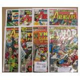 8 Vintage Marvel Comics