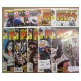10 KISS Comics