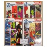 A-Force Presents Volume #1-4