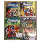 4 Avengers Graphic Novels