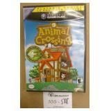 Nintendo Game Cube Animal Crossing Game