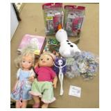 Lot of Dolls & New Sealed Toys