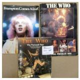The Who & Frampton Books