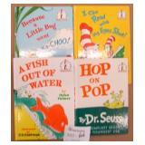 4 Dr.Suess Books