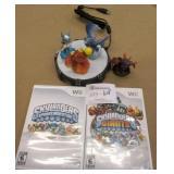 Wii Skylanders Games & Figures