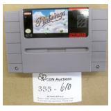 Super Nintendo Pilotwings Game