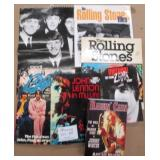 Lot of Rolling Stones, Beatles & Other Books