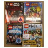 Lot of 4 Lego Books