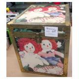 Raggedy Ann & Any Vintage Trunk