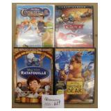 4 Disney DVD Movies