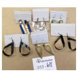 6 New Pairs of Earrings