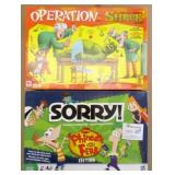 Operation Shrek & Sorry Games